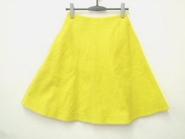 マディソンブルー スカート サイズ10 L レディース フロントパネルフレアスカート