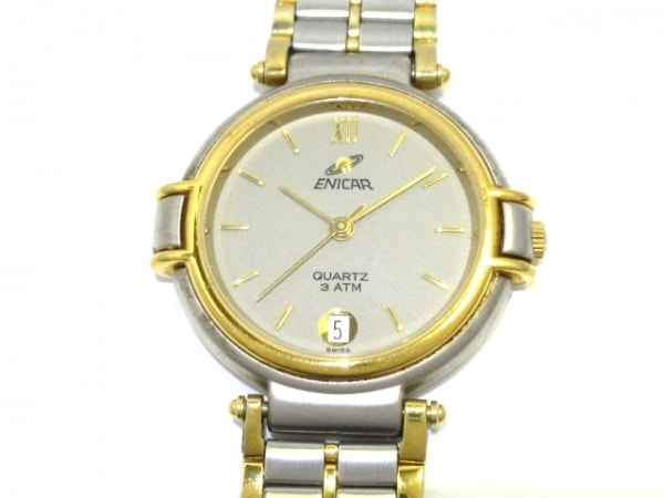 ENICAR(エニカ) 腕時計 955.39 メンズ グレー