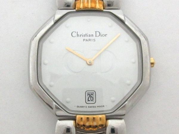 ChristianDior(ディオール) 腕時計 オクタゴン D45-204 メンズ 白