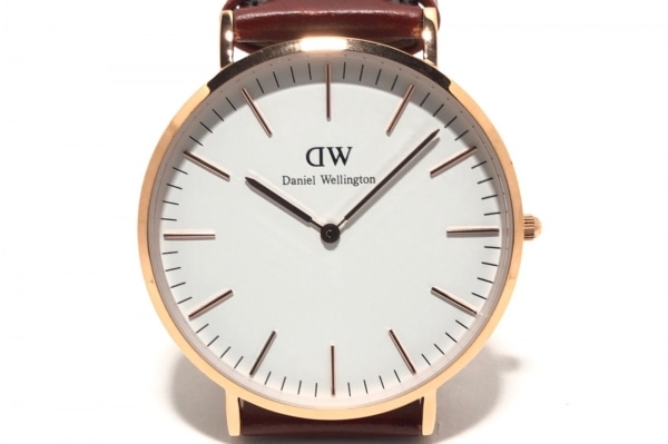 Daniel Wellington(ダニエルウェリントン) 腕時計 Classic B40R5 レディース 白
