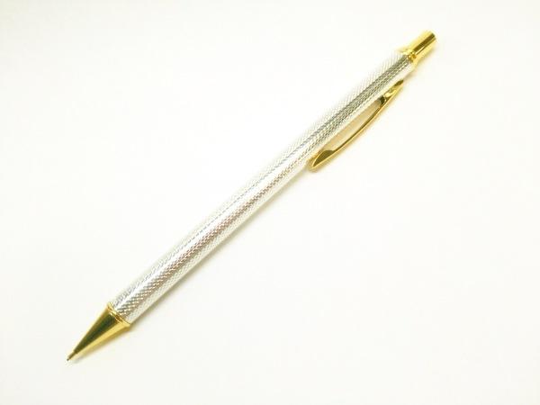 mikimoto(ミキモト) シャープペンシル美品  シルバー×ゴールド 金属素材