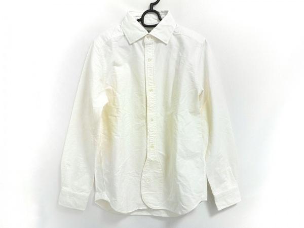 NIGEL CABOURN(ナイジェルケーボン) 長袖シャツ サイズ46 XL メンズ アイボリー