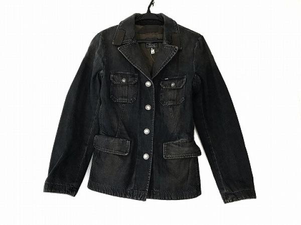 GAS(ガス) ジャケット サイズS レディース美品  ネイビー デニム