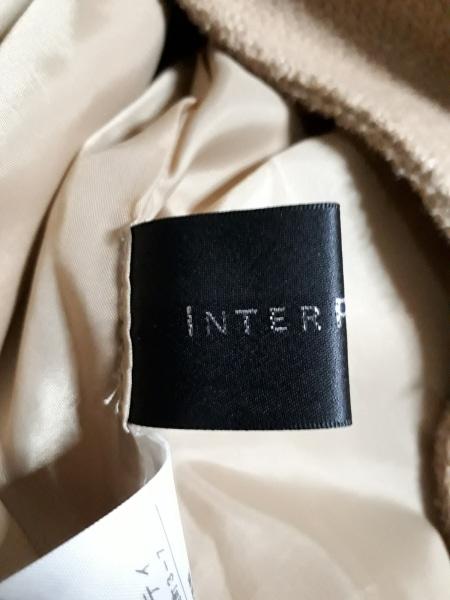 INTER PLANET(インタープラネット) コート サイズ2 M レディース ベージュ 冬物