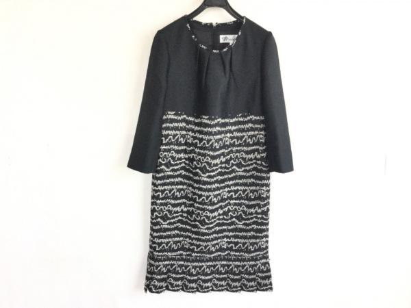 TAKEO NISHIDA(タケオニシダ) ワンピース サイズ11 M レディース美品  黒×白