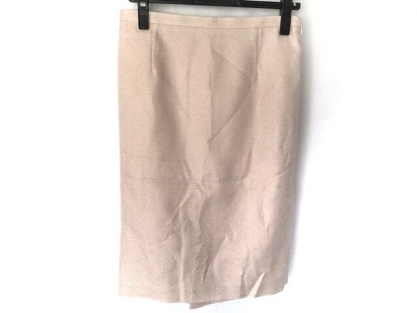 YOKO D'OR(ヨーコドール) スカート サイズ42 L レディース美品  ピンク ラメ
