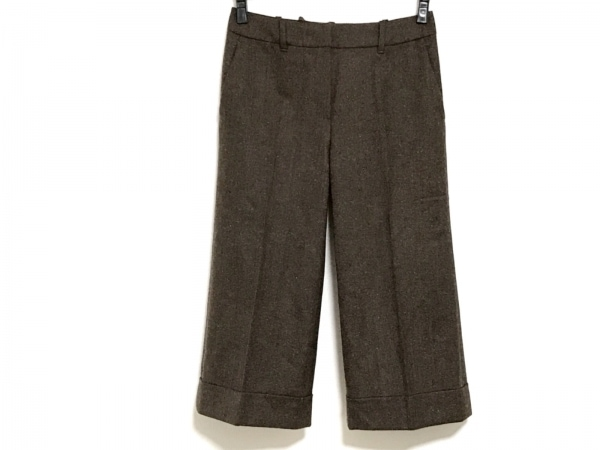 MARLENEDAM(マーレンダム) パンツ サイズ38 M レディース グレー×ベージュ