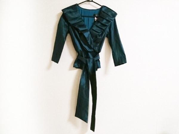 TADASHI(タダシ) 七分袖カットソー サイズ4 XL レディース美品  グリーン collection