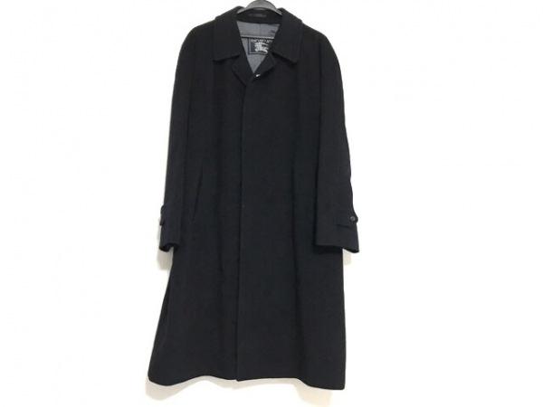 バーバリーズ コート サイズ92-170-5 メンズ美品  ダークネイビー ネーム刺繍/冬物