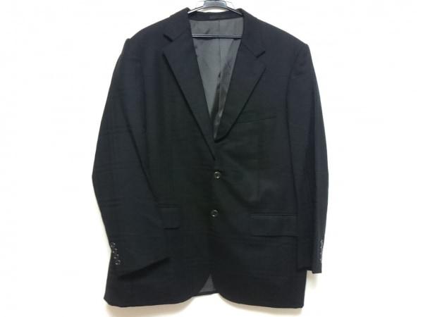 Burberry LONDON(バーバリーロンドン) ジャケット メンズ 黒 肩パッド/チェック柄