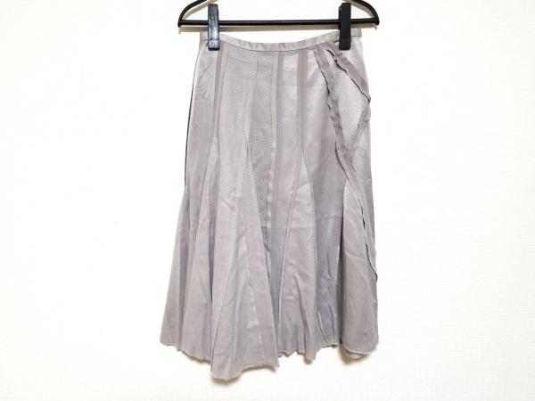 ソニアリキエル スカート サイズ38 M レディース美品  シルバー 2