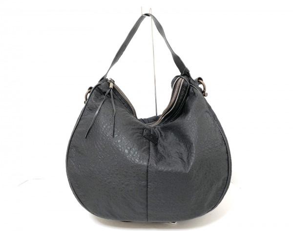 DIESEL(ディーゼル) ハンドバッグ 黒 化学繊維×合皮
