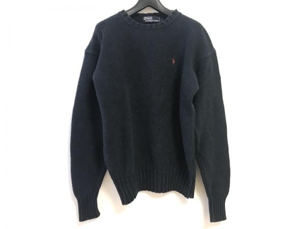 POLObyRalphLauren(ポロラルフローレン) 長袖セーター サイズS メンズ ネイビー