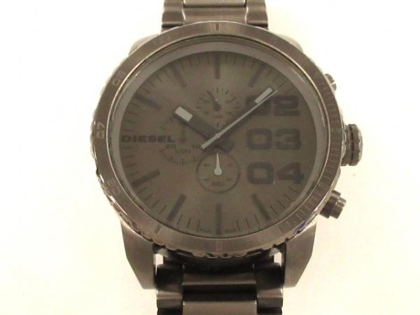 DIESEL(ディーゼル) 腕時計 DZ-4215 メンズ クロノグラフ ダークグレー