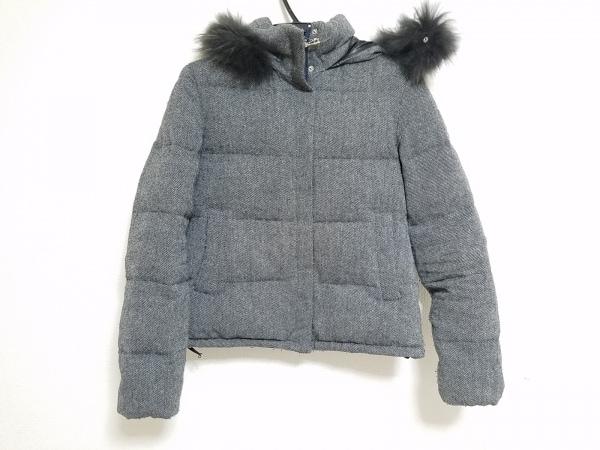 ARTISAN(アルチザン) ダウンジャケット サイズ11 M レディース ダークグレー 冬物