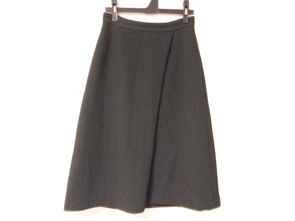 LE CIEL BLEU(ルシェルブルー) ロングスカート サイズ38 M レディース ダークネイビー