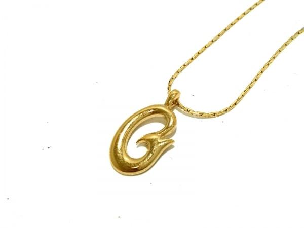 GIVENCHY(ジバンシー) ネックレス美品  金属素材 ゴールド