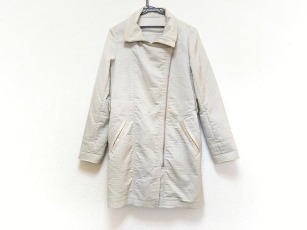 Gabardine K.T(ギャバジンケーティ) コート サイズ11 M レディース美品  アイボリー