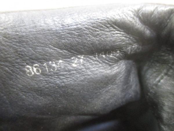 ランバンオンブルー スニーカー 27 メンズ グレージュ×ライトグレー ハイカット