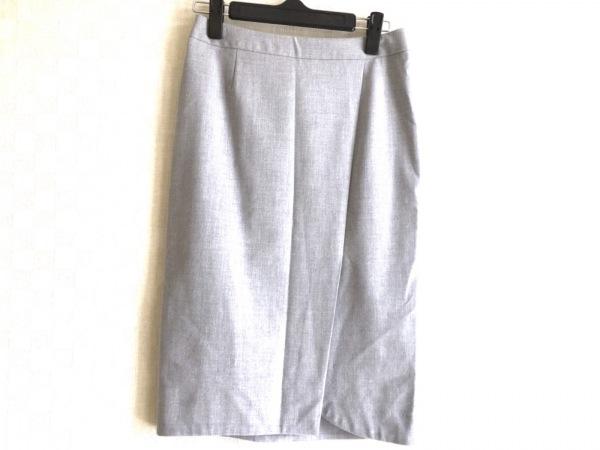 ESTNATION(エストネーション) スカート サイズ36 S レディース美品  ライトグレー