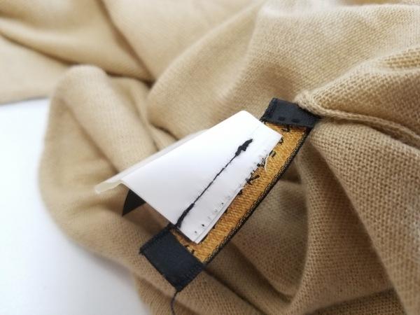 ダナキャランシグネチャー ノースリーブセーター サイズM レディース美品  ベージュ