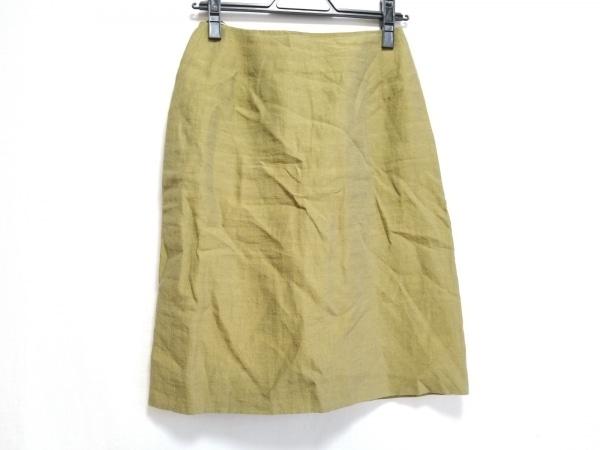 AKRIS(アクリス) スカート サイズ6US レディース美品  カーキ