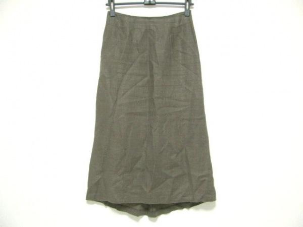 23区(ニジュウサンク) スカート サイズ36 S レディース ダークブラウン