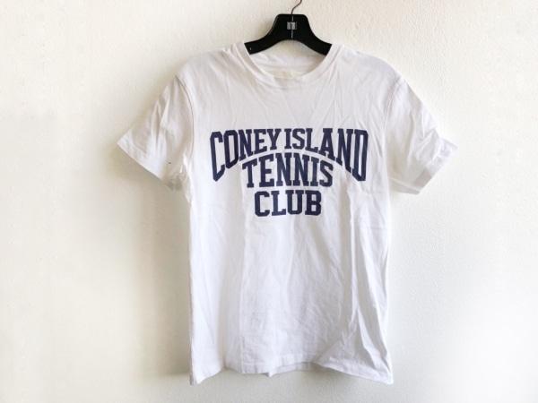 Shinzone(シンゾーン) 半袖Tシャツ サイズF レディース美品  白×ダークネイビー