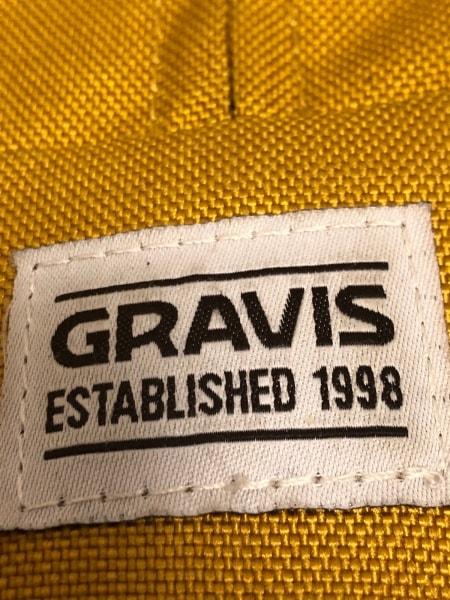 gravis(グラヴィス) リュックサック イエロー×ダークブラウン ナイロン
