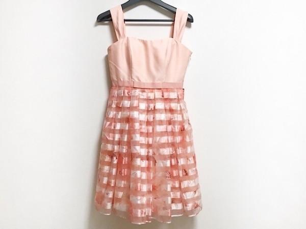 aimer(エメ) ドレス サイズ9 M レディース美品  ピンク×白×マルチ