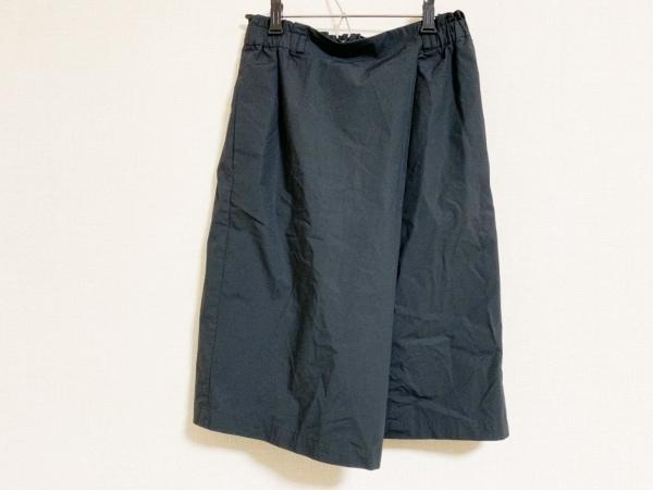 23区(ニジュウサンク) スカート サイズ38 M レディース美品  黒 ウエストゴム