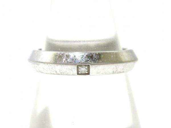 ヴァンクリーフ&アーペル リング 48 - Pt950×ダイヤモンド 総重量4.0g/2006刻印