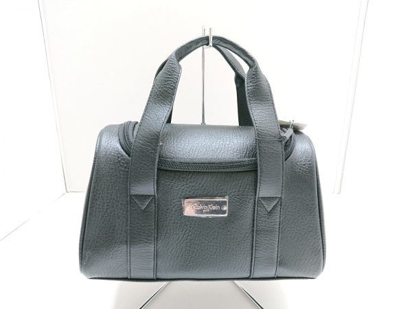 CalvinKlein(カルバンクライン) ハンドバッグ美品  黒 合皮