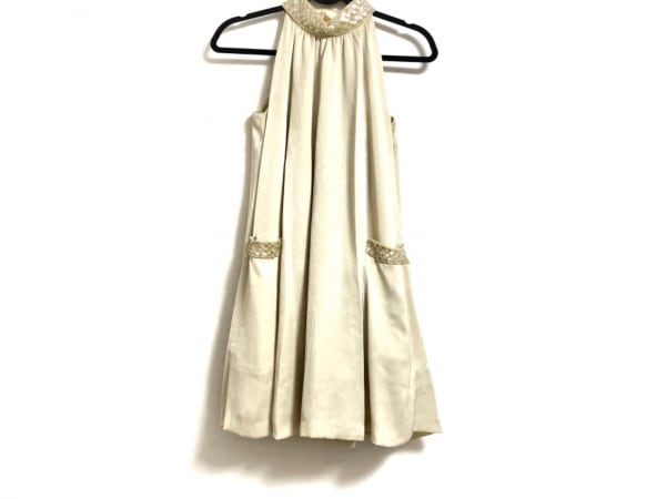 グレースコンチネンタル ドレス サイズ36 S レディース アイボリー
