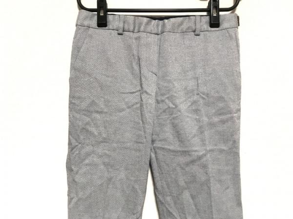 TOMORROWLAND(トゥモローランド) パンツ サイズ36 S レディース グレー ラメ