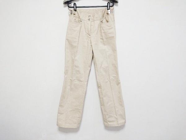 DOLCE&GABBANA(ドルチェアンドガッバーナ) パンツ サイズ40 M レディース ベージュ