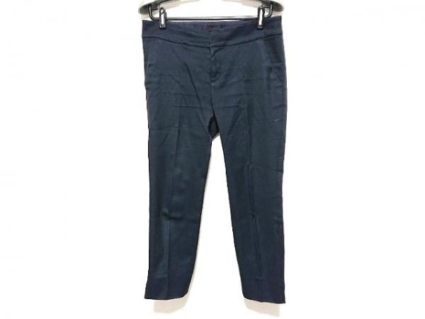 Filo di Seta(フィロディセタ) パンツ サイズ40 M レディース ダークネイビー