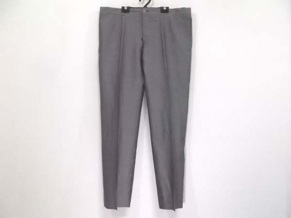 GIORGIOARMANI(ジョルジオアルマーニ) パンツ サイズ54 L メンズ グレー