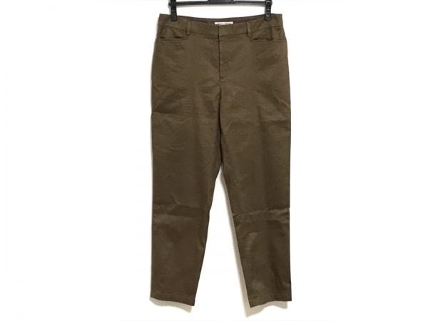 23区(ニジュウサンク) パンツ サイズ44 L レディース ダークブラウン