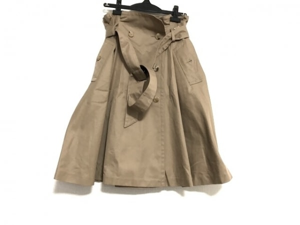 サポートサーフェス 巻きスカート サイズM レディース美品  ベージュ