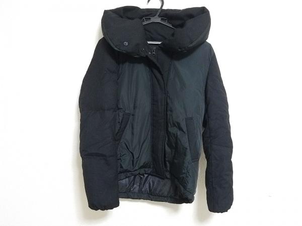 23区(ニジュウサンク) ダウンジャケット サイズ38 M レディース 黒 冬物