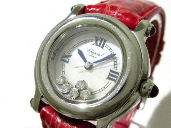 Chopard(ショパール) 腕時計 ハッピースポーツ 27/8245-23 レディース ホワイトシェル