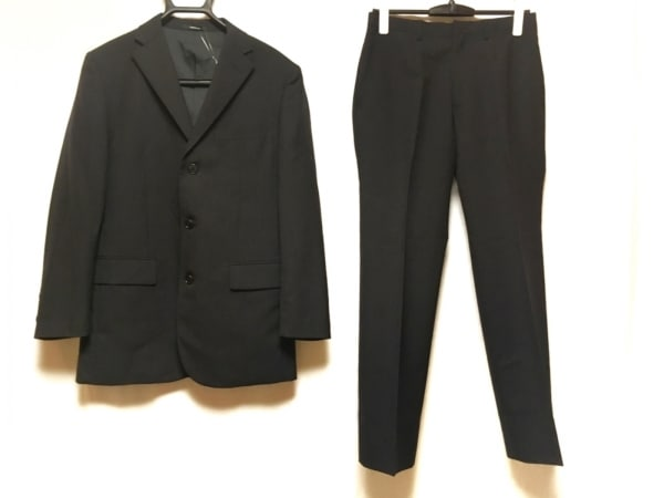 COMME CA ISM(コムサイズム) シングルスーツ メンズ ダークグレー