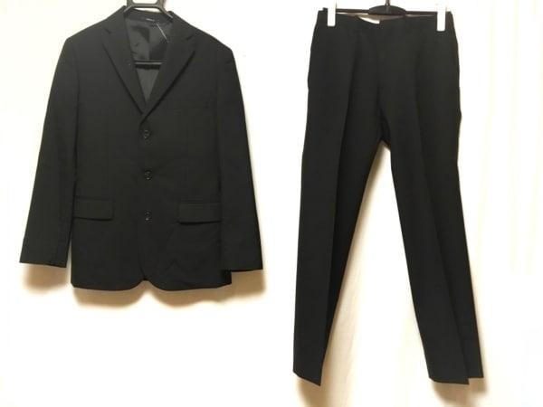 COMME CA ISM(コムサイズム) シングルスーツ サイズXS メンズ美品  黒