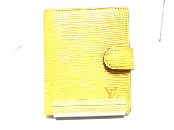 ルイヴィトン 手帳 エピ ミニアジェンダ R20078 ジパングゴールド レザー