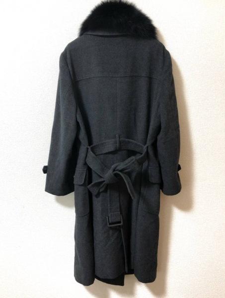 NEW YORKER(ニューヨーカー) コート サイズ15(76) レディース  ダークグレー×黒