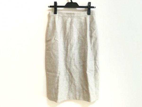CalvinKlein(カルバンクライン) スカート サイズ6 M レディース美品  ベージュ