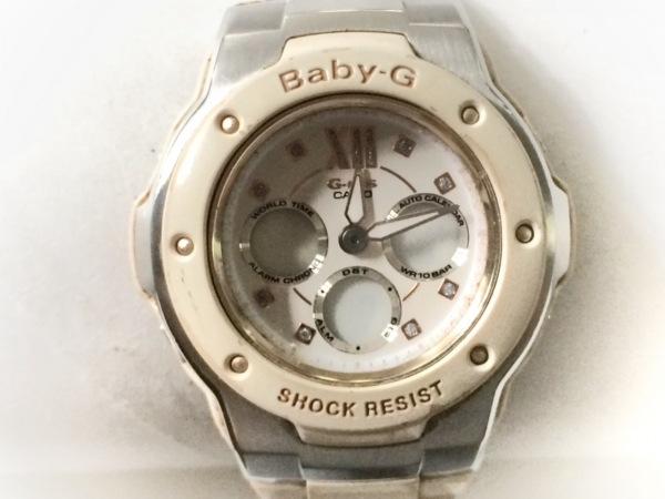 CASIO(カシオ) 腕時計 Baby-G/G-Ms MSG-301C レディース 白