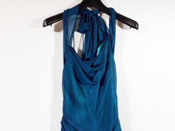 La Defence(ラデファンス) ドレス サイズ11 M レディース新品同様  ダークグリーン