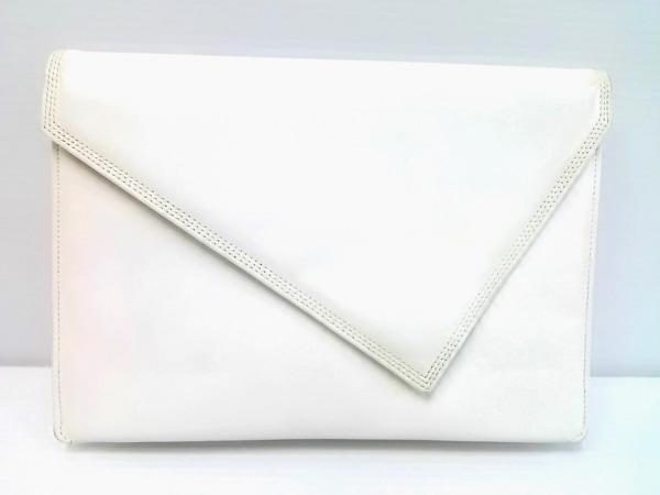 GIVENCHY SACS(ジバンシー) クラッチバッグ 白 レザー
